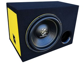 Ground Zero GZIW 12SPL-BR D2 Yellow Edition